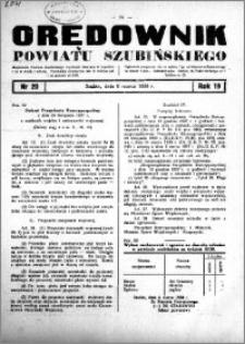 Orędownik powiatu Szubińskiego 1938.03.09 R.19 nr 20