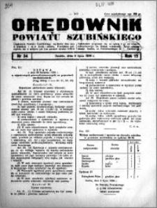 Orędownik Urzędowy powiatu Szubińskiego 1938.07.06 R.19 nr 54