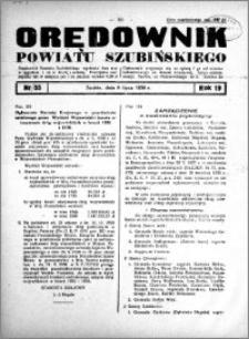 Orędownik Urzędowy powiatu Szubińskiego 1938.07.09 R.19 nr 55