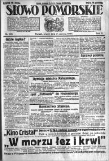 Słowo Pomorskie 1925.06.09 R.5 nr 132
