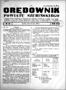Orędownik powiatu Szubińskiego 1938.07.20 R.19 nr 58