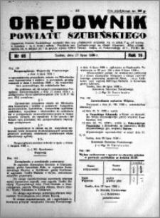 Orędownik powiatu Szubińskiego 1938.07.27 R.19 nr 60