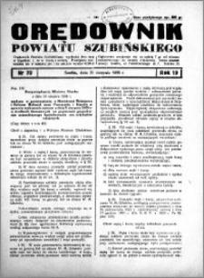 Orędownik powiatu Szubińskiego 1938.08.31 R.19 nr 70