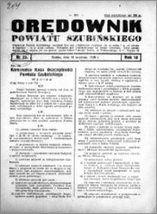 Orędownik powiatu Szubińskiego 1938.09.10 R.19 nr 73