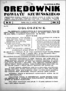 Orędownik powiatu Szubińskiego 1938.09.17 R.19 nr 75