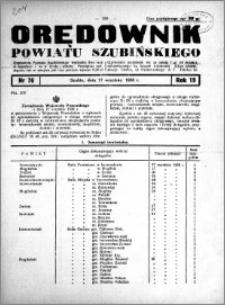 Orędownik powiatu Szubińskiego 1938.09.21 R.19 nr 76
