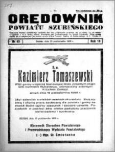 Orędownik powiatu Szubińskiego 1938.10.15 R.19 nr 83