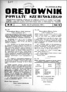 Orędownik powiatu Szubińskiego 1938.10.25 R.19 nr 86