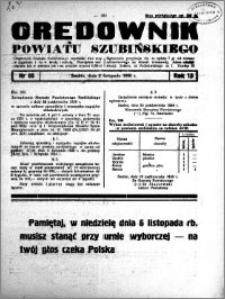 Orędownik powiatu Szubińskiego 1938.11.02 R.19 nr 88