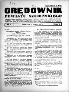 Orędownik powiatu Szubińskiego 1938.11.12 R.19 nr 91