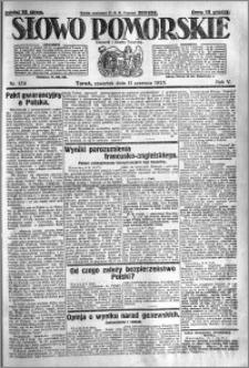 Słowo Pomorskie 1925.06.11 R.5 nr 134