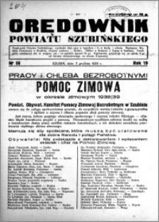 Orędownik powiatu Szubińskiego 1938.12.07 R.19 nr 98