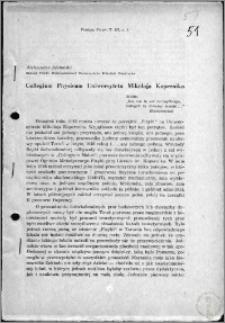 Collegium Physicum Uniwersytetu Mikolaja Kopernika