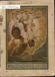 Kalendarz Słowa Bożego na rok przestępny 1928, R. 8