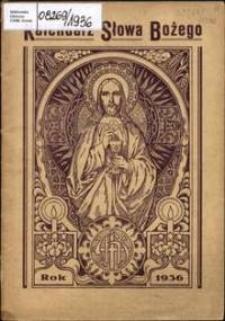 Kalendarz Słowa Bożego na rok 1936