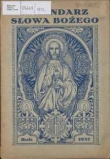 Kalendarz Słowa Bożego na rok 1937