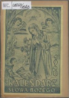 Kalendarz Słowa Bożego na rok 1948