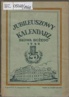 Jubileuszowy Kalendarz Słowa Bożego na rok 1949