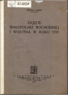 Zajęcie Małopolski wschodniej i Wołynia w roku 1919 : z 5 szkicami