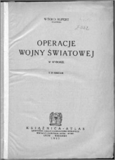 Operacje wojny światowej w wyborze