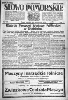 Słowo Pomorskie 1925.06.28 R.5 nr 148