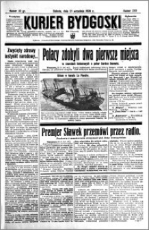 Kurjer Bydgoski 1935.09.21 R.14 nr 219