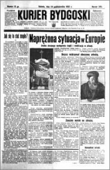 Kurjer Bydgoski 1935.10.19 R.14 nr 243