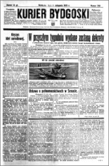Kurjer Bydgoski 1935.11.03 R.14 nr 255