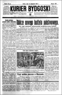 Kurjer Bydgoski 1935.11.13 R.14 nr 263