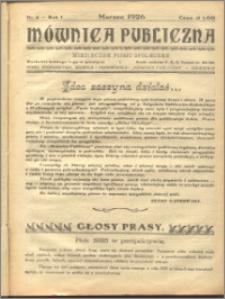Mównica Publiczna 1926 marzec nr 4