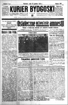 Kurjer Bydgoski 1935.12.22 R.14 nr 297