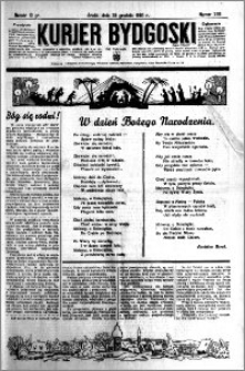 Kurjer Bydgoski 1935.12.25 R.14 nr 299