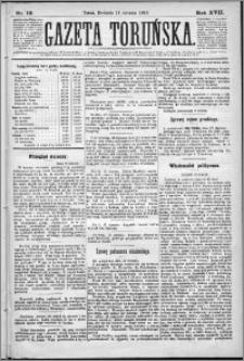 Gazeta Toruńska 1883, R. 17 nr 10