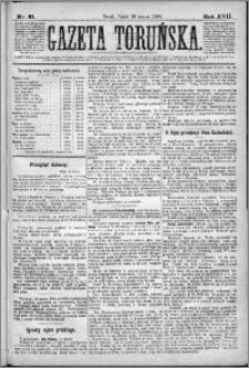 Gazeta Toruńska 1883, R. 17 nr 61