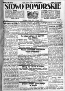 Słowo Pomorskie 1925.07.07 R.5 nr 154