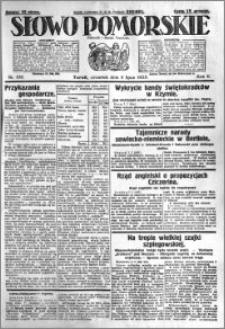Słowo Pomorskie 1925.07.09 R.5 nr 156