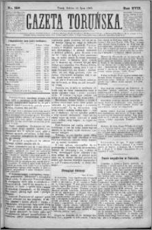 Gazeta Toruńska 1883, R. 17 nr 158