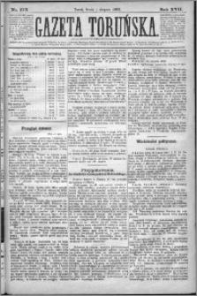 Gazeta Toruńska 1883, R. 17 nr 173