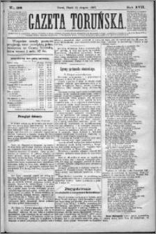 Gazeta Toruńska 1883, R. 17 nr 199