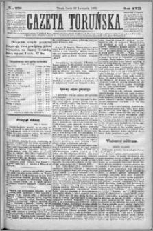 Gazeta Toruńska 1883, R. 17 nr 273