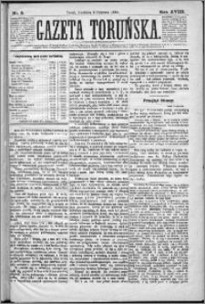 Gazeta Toruńska 1884, R. 18 nr 5