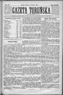 Gazeta Toruńska 1884, R. 18 nr 14