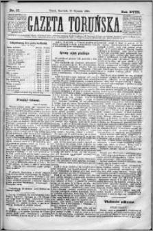 Gazeta Toruńska 1884, R. 18 nr 17