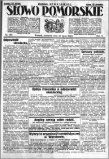 Słowo Pomorskie 1925.07.23 R.5 nr 168
