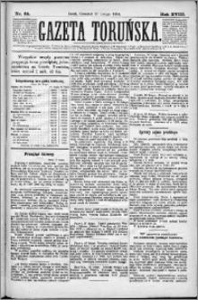 Gazeta Toruńska 1884, R. 18 nr 49