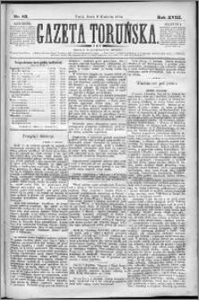 Gazeta Toruńska 1884, R. 18 nr 83