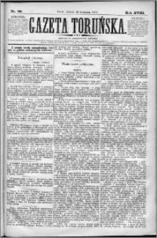 Gazeta Toruńska 1884, R. 18 nr 86