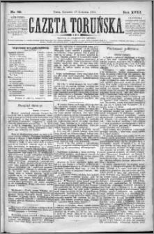 Gazeta Toruńska 1884, R. 18 nr 89