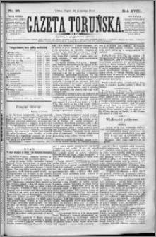 Gazeta Toruńska 1884, R. 18 nr 90