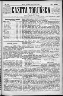 Gazeta Toruńska 1884, R. 18 nr 92